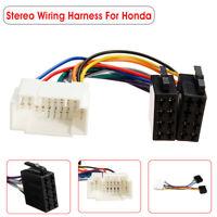Car Stereo Radio ISO Wiring Harness Loom Adaptor Connector For Honda Suzuki