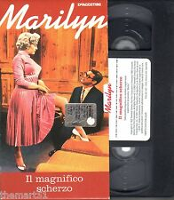 IL MAGNIFICO SCHERZO (1952) VHS DeAgostini  Marilyn Monroe Cary Grant CULT