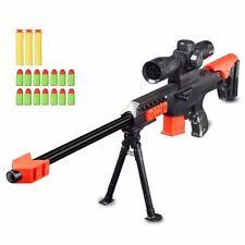 NEW Soft Bullet Gun Sniper Rifle Airsoft Guns Plastic Blaster Military Toy 15X
