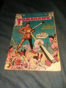 TOMAHAWK #68 dc comics 1960 WESTERN SCI FI ISSUE SUPER POWERS SILVER AGE classic