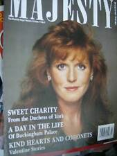 Majesty Magazine V11 #2 Sarah & Charity, A Day At Buckingham Palace, Valentine S