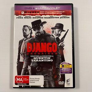 Django Unchained DVD 2012 movie Jamie Foxx Christoph Waltz Region 4