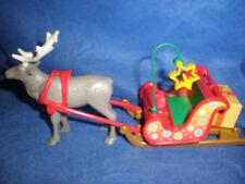 Playmobil Noël traîneau à Rennes avec cadeau Renne UNPLAYED non-utilisé TOP