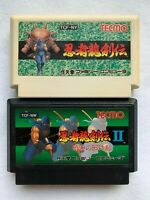 Ninja Ryukenden 1 2 Ninja Gaiden Famicom Game Tested Cleaned Japan