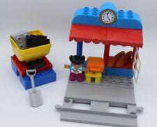 LEGO Duplo Eisenbahn- kleiner Bahnhof - Station - aus 10874 (neue Eisenbahnsets)