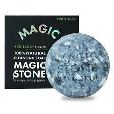 April Skin Magic Stone 100% Natural Cleansing Soap 100g / Korean Cosmetics