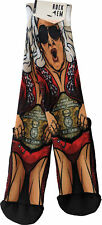Rock EM Elite Ric Flair Nature Boy Licensed WWE Crew Socks L/xl