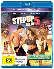 Step Up 1 - 5 blu ray STEP UP+STEP UP 2 THE STREETS+STEP UP 3+Miami Heat+All In