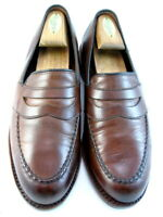 "Allen Edmonds ""RANDOLPH"" Slip-On Penny Loafers 7.5 D  Dark Chili Made USA (472)"
