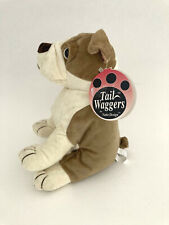 Tail Waggers Naito Design Bulldog Plush Beanbag Stuffed Puppy Dog