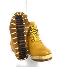 Construction Worker Boots Christmas Tree Ornament