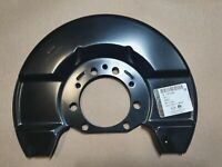SAAB 9-3 GM VAUXHALL OPEL 314MM BRAKE DUST SHIELD COVER FRONT 12790369 13276089