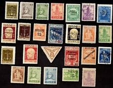 25 FIUME All Different   STAMPS