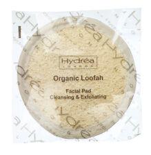 Hydrea London orgánico Esponja Almohadilla De Limpieza Y Exfoliante Facial Cuidado Piel Redondo