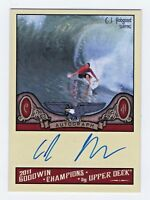 2011 Goodwin Champions Authentic Autograph C. J. Hobgood World Champion Surfing