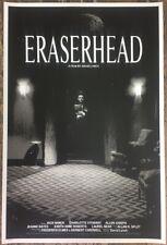 "Eraserhead Poster 24""x36"" Screenprint Limited Edition David Lynch"