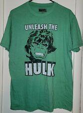 Incredible Hulk _ Unleash the Hulk _ Green T Shirt _ Large