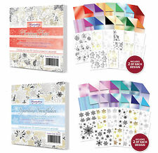 Hunkydory ~ liftables-SPUMANTE Fiocchi di neve Pad & Natale Cheer Pad Multibuy