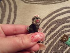 Vtg Miniature Scottie Dog Figurine