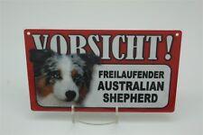 AUSTRALIEN Berger- Signe d'avertissement des animaux