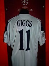 GIGGS MANCHESTER UNITED 2000/2001 MAGLIA SHIRT CALCIO FOOTBALL MAILLOT JERSEY