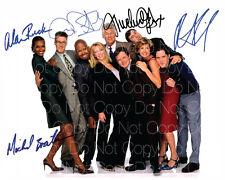 Spin City signiert Bostwick Fox Ruck Art 8X10 Foto Bild Poster Autogramm RP 3