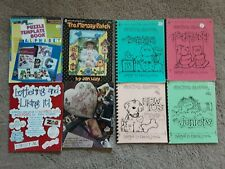 Lot of 8 Scrapbooking Idea Books, Templates, and Creative Lettering Guide