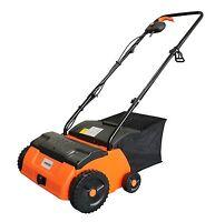 eSkde 2 in 1 Electric Scarifier Lawn Rake & Aerator 1400w 32cm Width 4 Heights