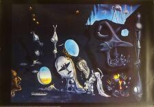 Salvador Dali 27x39 Idylle Atomique 1993