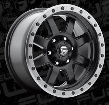 18x9 Fuel Trophy D551 5x150 ET20mm Matte Black Wheels Rims (Set of 4)