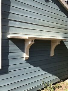 A Reproduction French Country Style Redwood Console Table