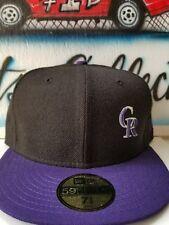 New Era MLB Colorado Rockies Fitted Hat 7 3/8