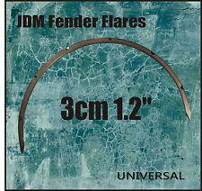 "JDM Fender Flares Fiberglass 3cm 1.2"" UNIVERSAL (set of 4)"