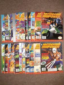 Nintendo power magazine lot
