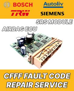 VOLVO P30773786 30773786 AIRBAG ECU SRS MODULE CFFF FAULT REPAIR SERVICE