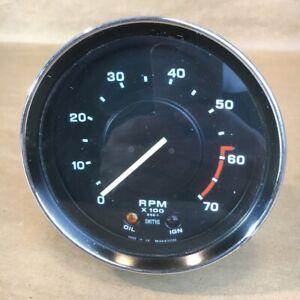 OEM 1972-1976 Triumph TR6 SMITHS Tachometer Tach Gauge RN2414/00AS Original Part