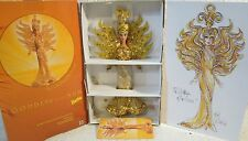 Bob Mackie Goddess Of The Sun Barbie Doll Hand Sewn Beading & Sequins Outfit NEW