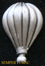 HOT AIR BALLOON AUTHENTIC PEWTER HAT LAPEL PIN MADE IN US Albuquerque GIFT WOW