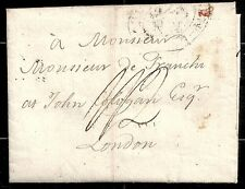 Puerto 1807 folded letter to London