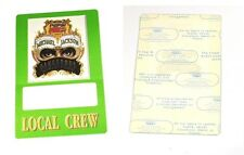Pepsi-cola Michael Jackson backstage pass dangerous world tour usa 1992