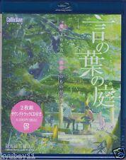 New The Garden of Words Kotonoha no Niwa Blu-ray Soundtrack CD Booklet Japan F/S