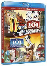 101 DALMATIANS 1 & 2 [Blu-ray Set] 1961 Disney Animated Movie 2-Disc Combo Pack