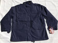Rothco 8527 US Military M-65 M65 Field Jacket w/ Liner Navy Blue Large Regular