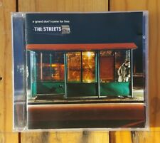 THE STREETS - A Grand Don't Come For Free CD 2004 (Australian Pressing)