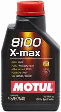 MOTUL 8100 X MAX 0W-40 OLIO SINTETICO BMW FORD PORSCHE 1 LITRO ALTE PRESTAZIONI