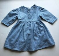 American Girl Doll Pleasant Company 1994 Addy Light Blue Work Dress Original