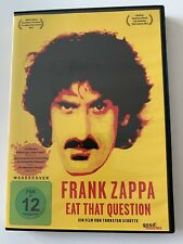 Frank Zappa Mothers Of Invention Eat That Question Dokumentarfilm Schütte DVD