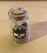 Sanrio Badtz Maru Penguin Corked Glass Bottle Of Erasers 1990S sealed Rare