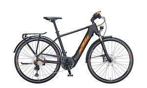 E-Bike KTM MACINA SPORT 610  black matt, orange flip+black glossy