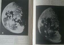 First Moon Photographs Great Paris Telescope Lunar Rare Old Article 1900 Morvan